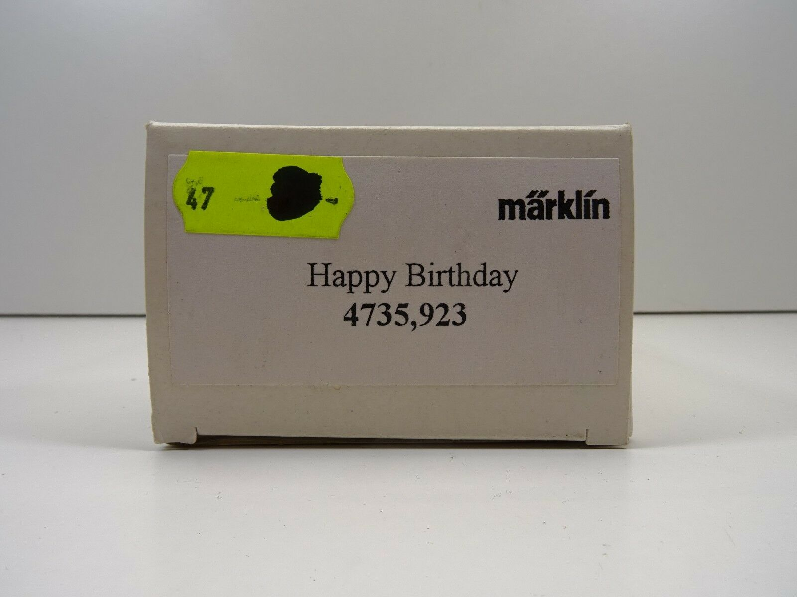Märklin h0 4735,923 Sowa Happy Birthday Birthday Birthday hbils Top Scatola Originale c3378 2e517e