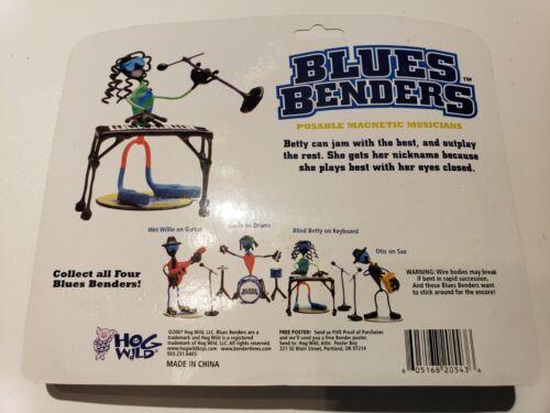 Blind Betty sur Clavier Blues Bender magnétique Joe Bender Hog Wild TOYS GREAT FUN