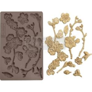Prima Marketing Mould Mold CHERRY BLOSSOMS Flower Food Safe Clay Candy Chocolate