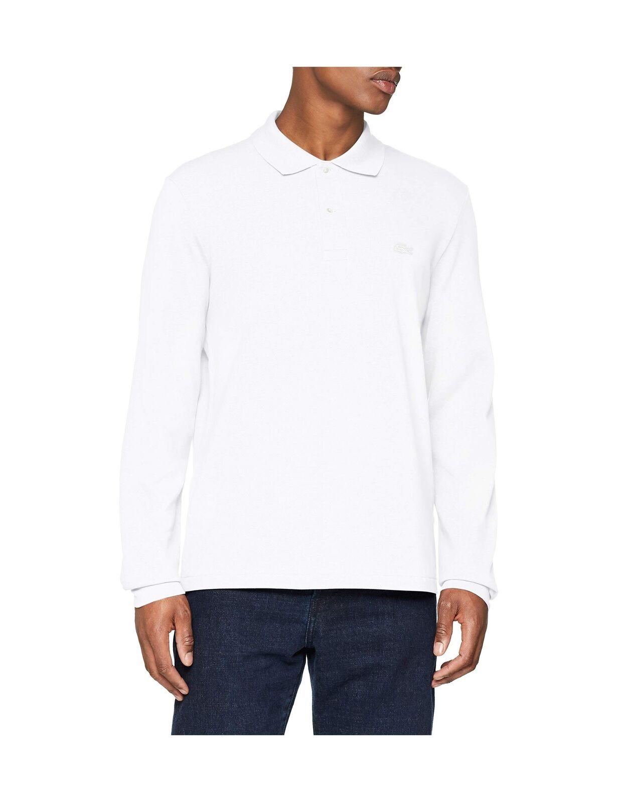 Lacoste Men's Polo Shirt White (White 001) XXXX-Large (Manufacturer size  9) .