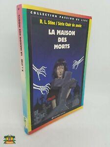 Details Sur Livre Chair De Poule La Maison Des Morts