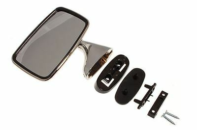New LH Drivers Side Mirror Reproduction of Original Mirror for MGB 1974-1980