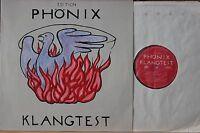 Edition Phönix - Klangtest - Test Schallplatte - EPH 01 - Test Töne & Musik