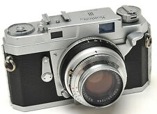 Konica III Rangefinder Camera with 48mm f/2 Lens