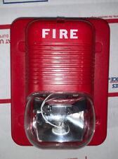 System Sensor P121575 Horn Strobe For Fire Alarm System Used