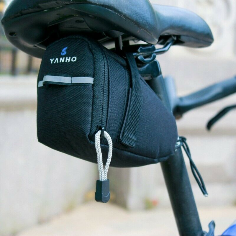 Bicycle Waterproof Storage Saddle Bag Seat Cycling Tail Rear Pouch Bag For Bike