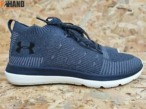 new styles 7c61e c37aa Details about Under Armour UA Slingflex Rise Gray Sneakers Running Shoes  Men's Size 9.5 US