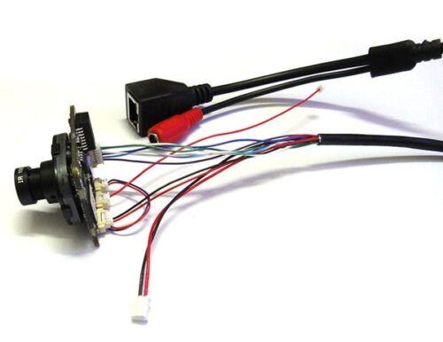 HD IP Camera 3.6mm lens IRC Module 720P 1.0MP CCTV IPC PCB Main Board