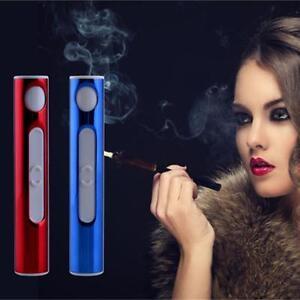 Elektronisches-Cigarette-Pulsed-Arc-Slim-Windproof-Cigar-Lighter-USB-Ladegeraet