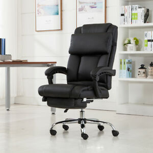 executive office chair ergonomic armchair reclining high back