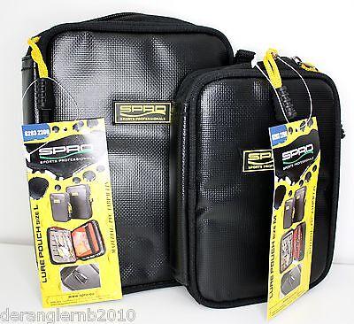 Spro PVC Tapaulin Black Lure Pouch M L Ködertasche Tasche für Köder Spinner usw.