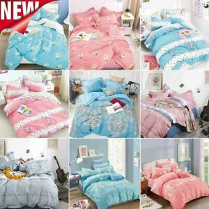 Fashion Bedding Set With Duvet Cover Pillow Cases Quilt