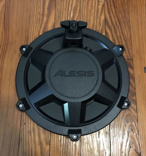 "Alesis 8/"" Mesh Drum Pad NEW w//Clamp /& L-Bar Tom Nitro Single Zone Expansion Pad"