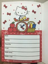 Diaryschedule Book Free Shipping Hello Kitty From Japan 2022