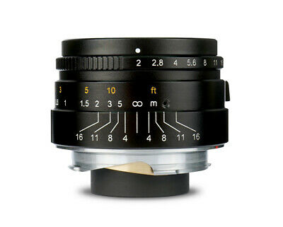 7Artisans 35mm f//2.0 for Leica-M-mount Wide-Angle lens REAL EU SHIP ✮ SILVER