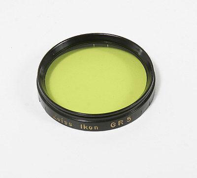 Getrouw Zeiss 42mm Slip On Green Gr5 Filter/123345 Geselecteerd Materiaal