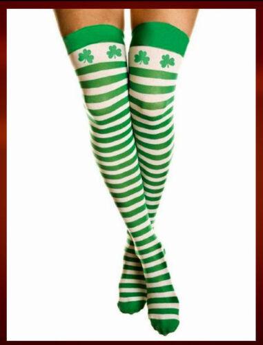 8-16 St Patricks Pats Ladies Womens Costume Dress Irish Paddys Tutu Frock Sz