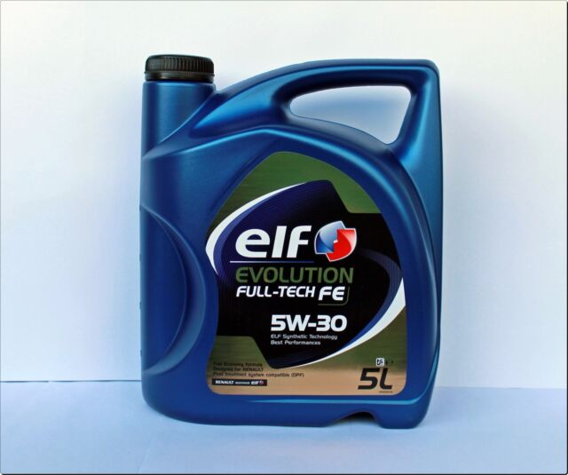 De Berlín Aceite de Motor ELF EVOLUTION FULL TECH FE 5W30 (DPF) 5 Litros 5W-30
