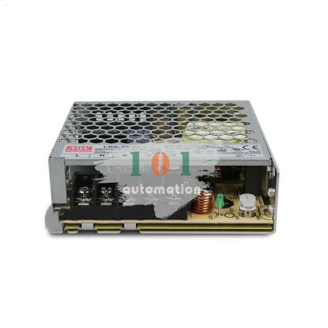 New Switch Power Supply 24V 3.2A 75W 99x97x30mm for Mean Well MW MeanWell LRS-75-24
