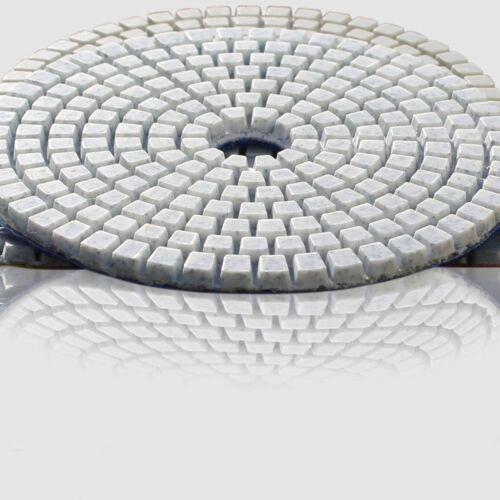 Diamond Polishing Pads 5 Inch 5 piece Set Wet Dry For Granite Concrete Marble