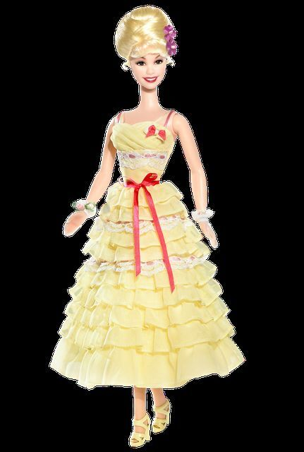 Barbie Collector GREASE MOVIE - Frenchy Party Dress Barbie Doll Doll Doll d239e0