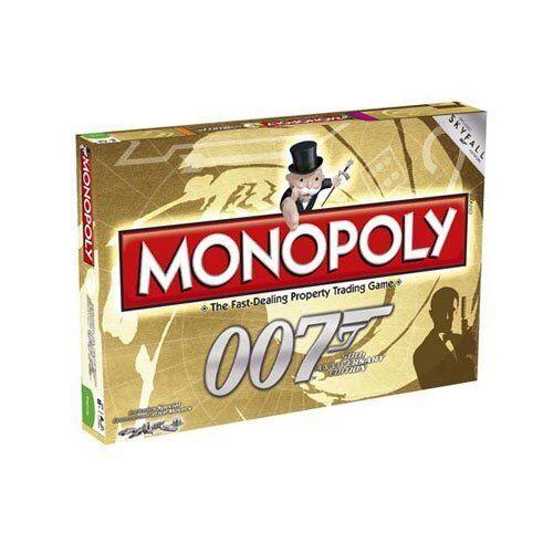 James bond 007 neu versiegelt monopoly - spiel