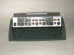 Details about RadioShack 5 Way Tilting Auto Sensing Stereo Audio Video  Selector # 15‑1985