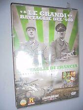 DVD N° 8 LE GRANDI BATTAGLIE DEL 900 BATTAGLIA DI FRANCIA DUNKERQUE EPILOGO