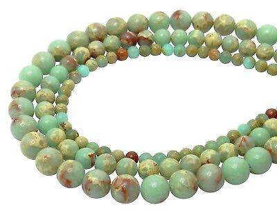 😏 Schlangenhautjaspis Kugeln 4, 6 oder 8 mm Edelstein Perlen Jaspis Strang 😉