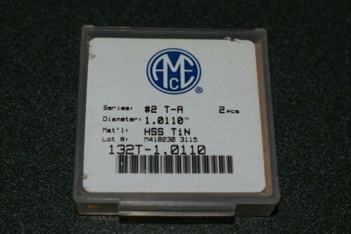 2 NEW AMEC Allied 132T-1.0110 #2 T-A HSS TiN Spade Drill Inserts