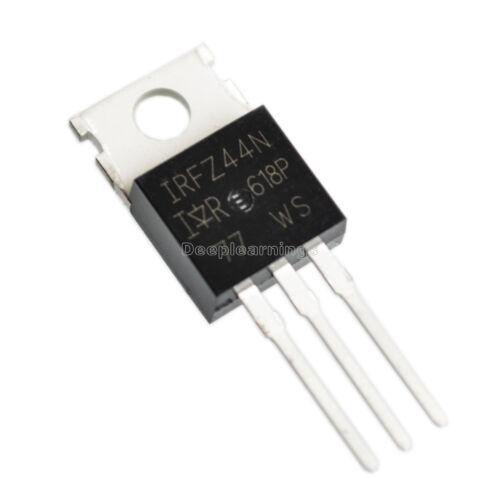 10 PCS IRFZ44N IRFZ44 Transistor MOSFET N-Channel 49A 55V