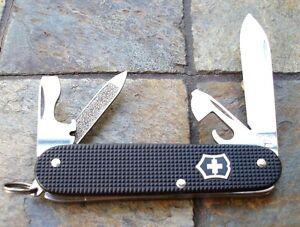Victorinox Cadet Black Alox Original Swiss Army Knife