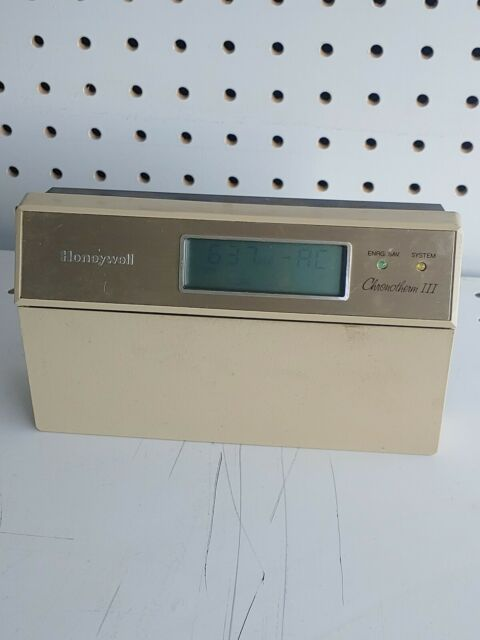 Honeywell Chronotherm Iii Heat Pump Thermostat For Sale