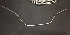 VW AirCooled Beetle Steel Fuel Feed Line    Prt# 113127521A
