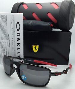 Image is loading Polarized-Scuderia-FERRARI-OAKLEY-Sunglasses-BADMAN -OO6020-07- 92a7dc137e