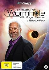 Through The Wormhole With Morgan Freeman : Season 4 (DVD, 2014, 3-Disc Set)