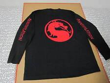 MORTAL KOMBAT ANNIHILATION film crew shirt deadstock vtg 90s nintendo movie