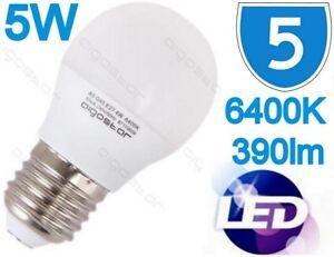 5x-Lumiere-Jour-Blanc-Economie-D-039-Energie-5W-Led-Ampoule-de-Lampe-Es-E27