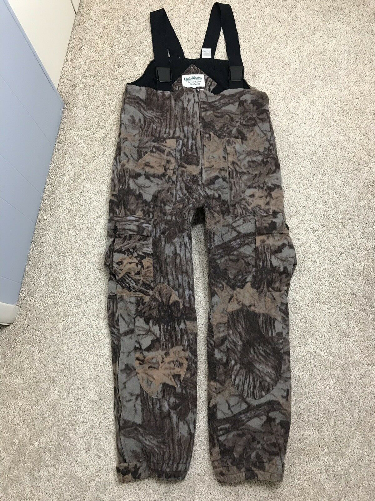 Gander Mountain  Sympatex Soft Shell Waterproof Camo Cargo Hunting Bibs Mens XL  be in great demand