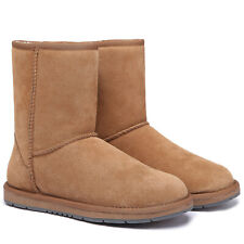UGG Boots 3/4 Unisex Short Classic,Water Resistant Australian Sheepskin Boots