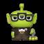 "DISNEY PIXAR REMIX-Carl 3.75/"" POP FUNKO Figura in vinile 751"