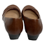 miniature 5 - Chinese Laundry CL Womens Shoes Wedge Heels Pumps Faux Leather Brown Size 7.5