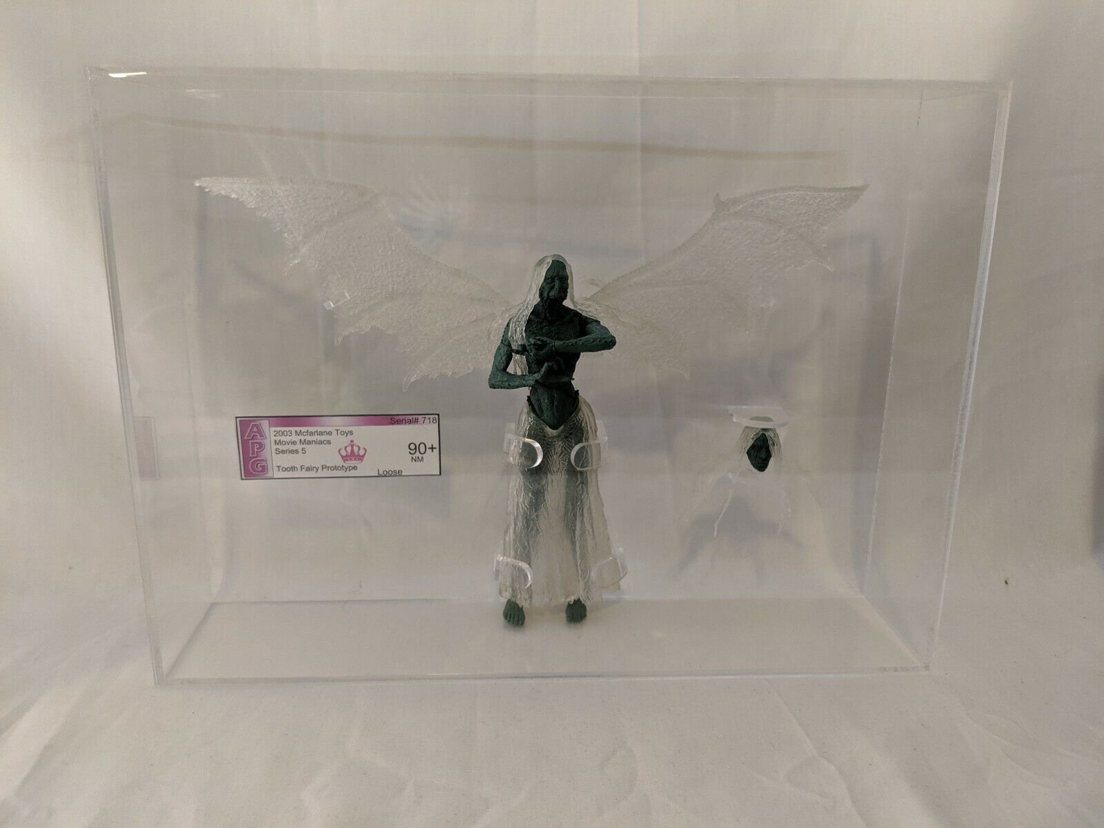 Mcfarlane movie maniacs Series 5 Tooth Fairy Prossootype Apg Graded With...
