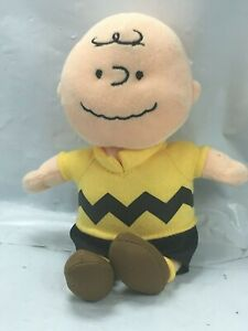 Peanuts-Charlie-Brown-Tv-Movie-Character-Mini-Plush-TY-Bean-Bag-Toy-Authentic