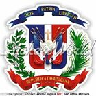 DOMINICAN REPUBLIC Coat of Arms, National Emblem Vinyl Bumper Decal, Sticker