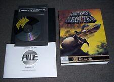 NEW BOXED Atari Falcon 030 computer game Robinson's Requiem CDROM 1993 Silmarils