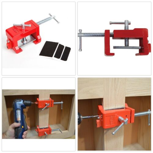 BESSEY Face Frames Cabinet Installation Clamp Cabinetry Wood Tool w// Drill Guide