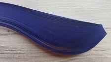200 carta da Quilling strisce in blu di bacche-larghezza 3mm