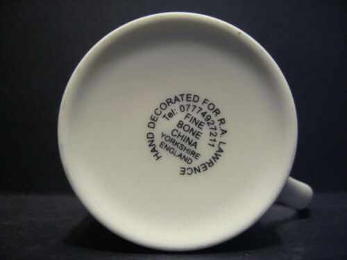 Funny Novelty TYKE/'S MOTTO YORKSHIRE Fine Bone China Mug Beaker cup