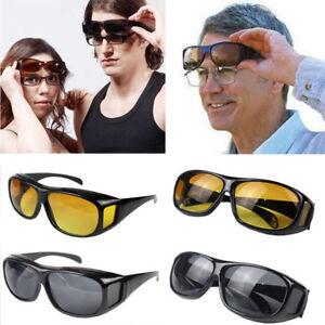99dd347dba8 Image is loading Driving-Glasses-Anti-Glare-Sunglasses-Night-Vision-Vintage-